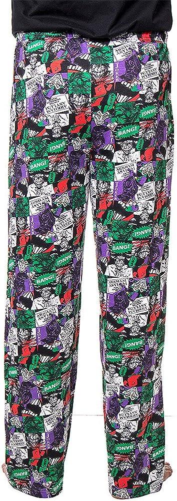 Unbekannt The Joker Arkham Asylum Pyjama-Hose Multicolour