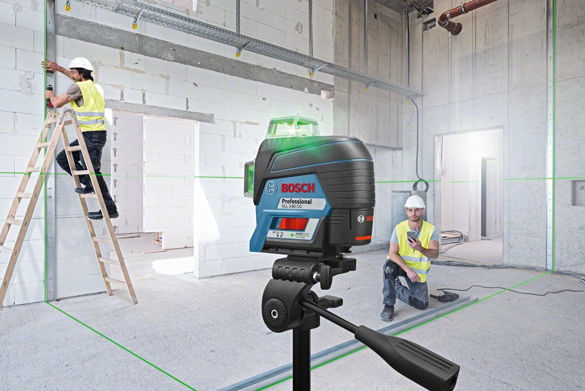 Makita Entfernungsmesser Opinie : Bosch professional linienlaser gll 3 80 cg app funktion ladegerät