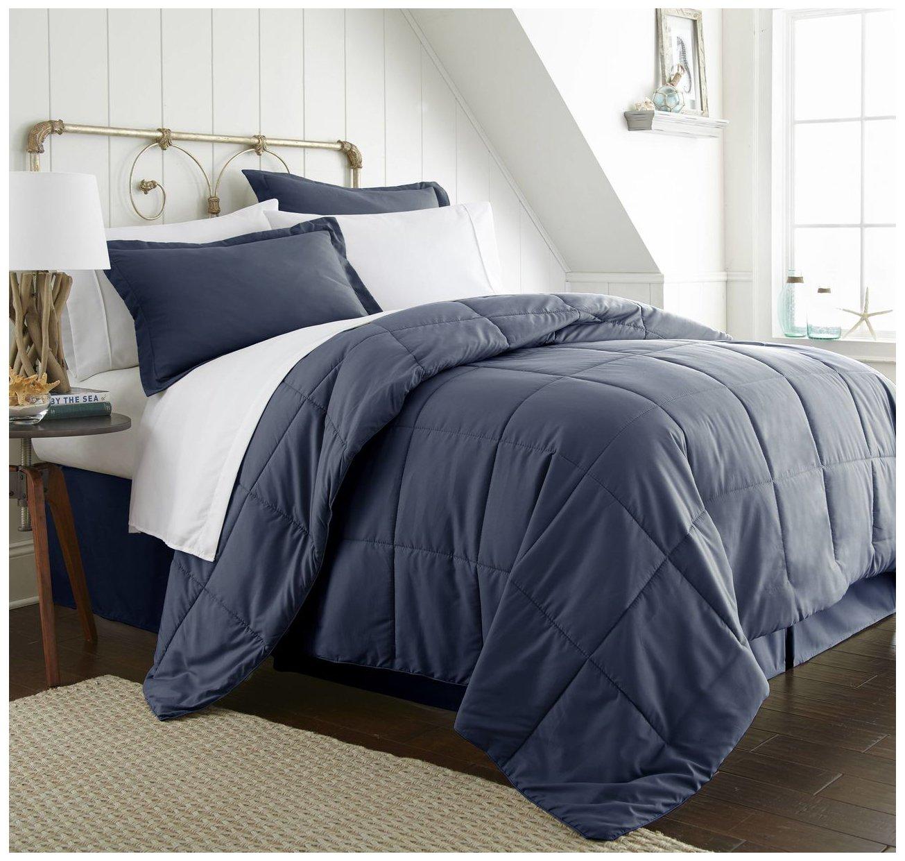 ienjoy Home Bed in a Bag, Queen, Navy