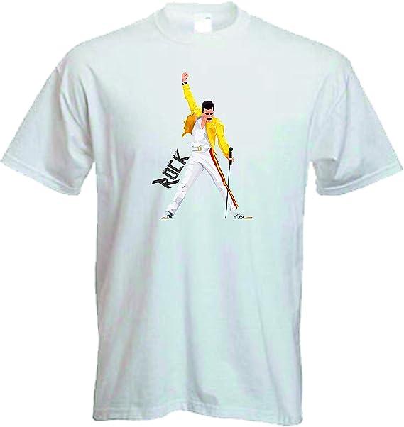 50% rebajado tan baratas gran descuento de 2019 Camiseta Freddie Mercury Rock Queen