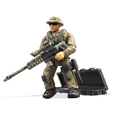 Mega Construx Call Of Duty Desert Sniper Building Set: Toys & Games