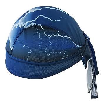 Hombres de running cascos ciclismo gorros apretado Beanies Lightning impreso