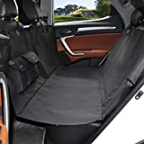 Dog Seat Cover, Alfheim Original Pet Seat Cover for Cars - Black, WaterProof & Hammock Convertible