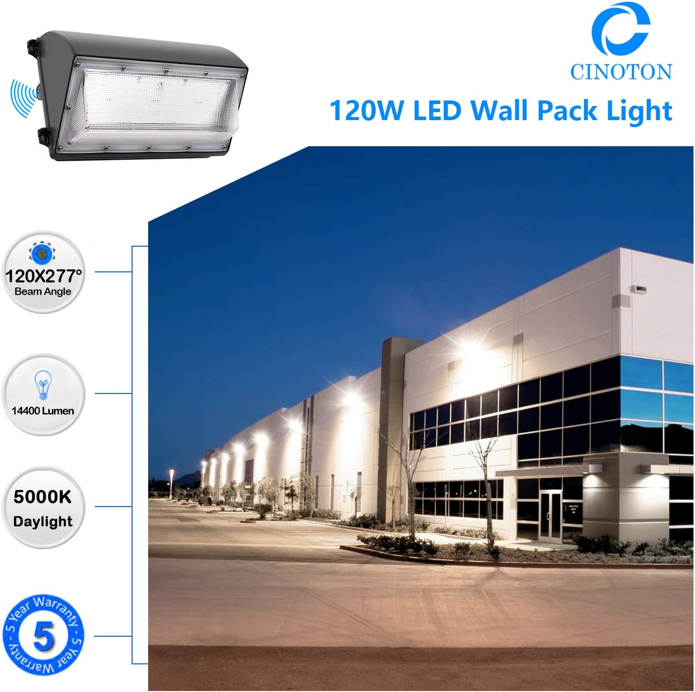 CINOTON LED Wall Pack Light
