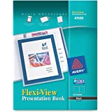 Avery  Flexi-View  Presentation Book, Black, 24 Page Book (47690)