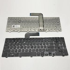 Sierra Blackmon N5110 keyboard for DELL Inspiron For Laptop Keyboard with Frame for DELL Inspiron 15R N5110 M501Z M511R Ins15RD-2528 2728 2428