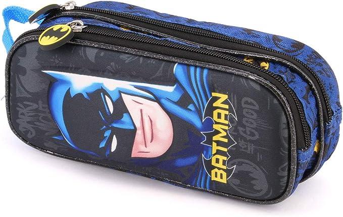 Batman Knight-Estuche Portatodo 3D Doble: Amazon.es: Equipaje
