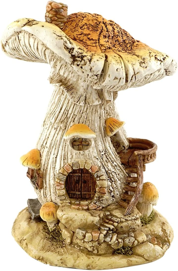 Top Collection Miniature Garden and Terrarium Mushroom Fairy House Figurine
