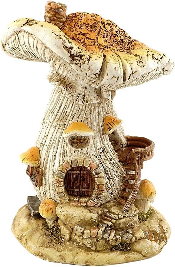 Details about  /2pcs Mushroom Toadstool Red Pink Green Fairy Garden Terrarium Figurine Decor Toy