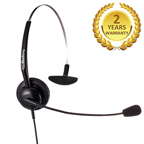 Silver 2.5mm Call Center Hands Free headset Mic for Motorola v60 v60i v60c v60g