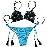 Amazon Price History for:Angerella Sexy Teeny Halter Junior Cute Bathing Suit Bikini