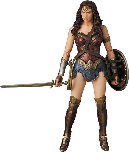 Batman vs Superman Wonder Woman Action Figure Dawn of Justice DC Mattel Sword