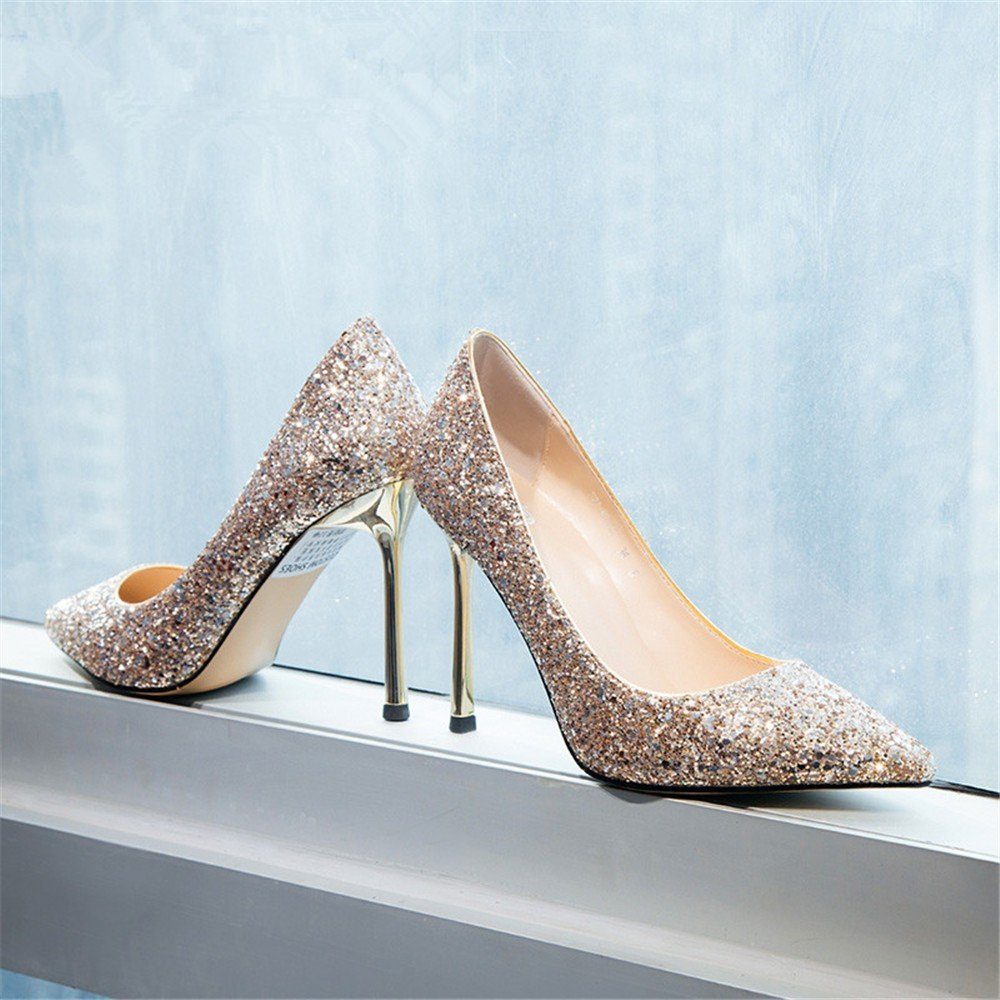 HXVU56546 Neue Präsident Präsident Präsident Einzelne Schuhe Frühjahr Und Herbst Jahreszeiten Fine Crystal Schuhe Mit Hohen Absätzen B07BJ78SK3 Tanzschuhe Verschleißfest 1cd500