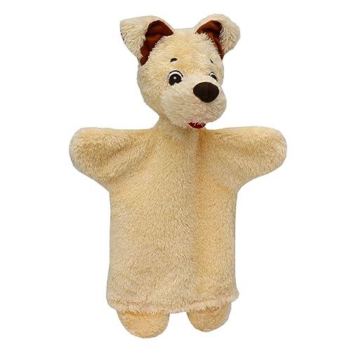 ABA Marionnette chien Beige 29cm