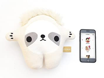 Toymail Talkie by Chunk The Sloth, WiFi Voice Chat Smart Toy Lets Kids Stay Connected