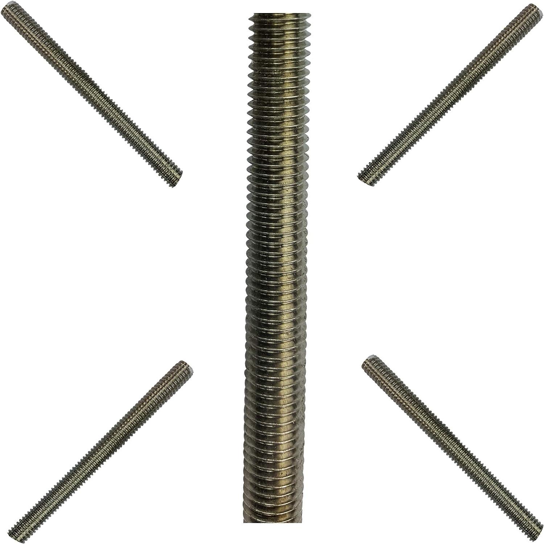 1 Gewindestange M22 1000 mm lang Edelstahl A2 DIN 976