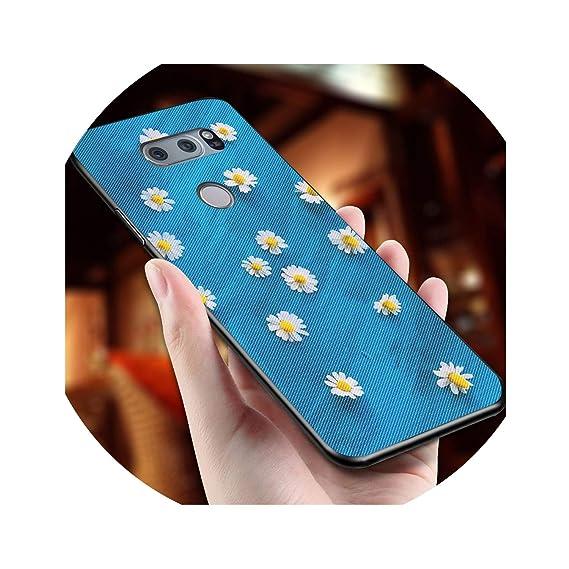 Amazon com: Flowers Phone Case for LG Optimus G4 G4C G5 G6