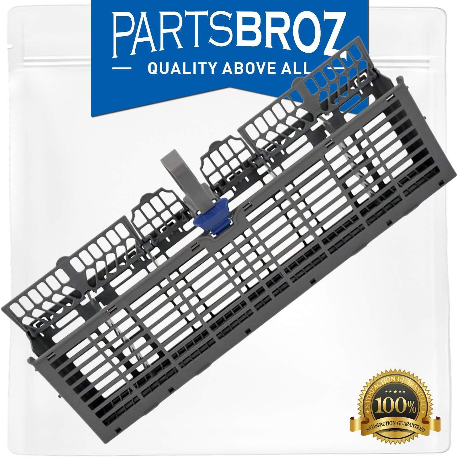 W11158804 Silverware Basket by PartsBroz - Compatible with Whirlpool Dishwashers - Replaces AP6278121, W10810490, WPW10350340, WPW10336560, WP8562061, 8562061, W10336560, W10350340, W10629540