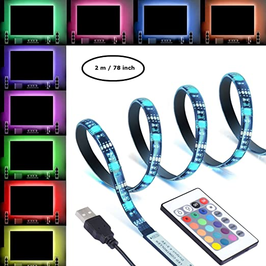 Buy Sgm Led Tvdesktop Backlight Strip Usb Lighting Kit With Remote