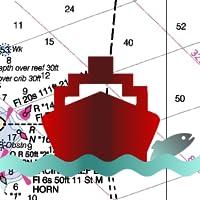 Marine Navigation - USA - Lake Depth Maps - Gps Nautical Charts for Fishing, Sailing and Boating