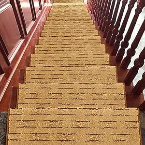World-ditan Escalera alfombras peldaños Escalera peldaño Adhesivo Interior Autoadhesivo Escalera Antideslizante (Color : C (1pcs), Tamaño : 75 * 24 * 3cm): Amazon.es: Hogar