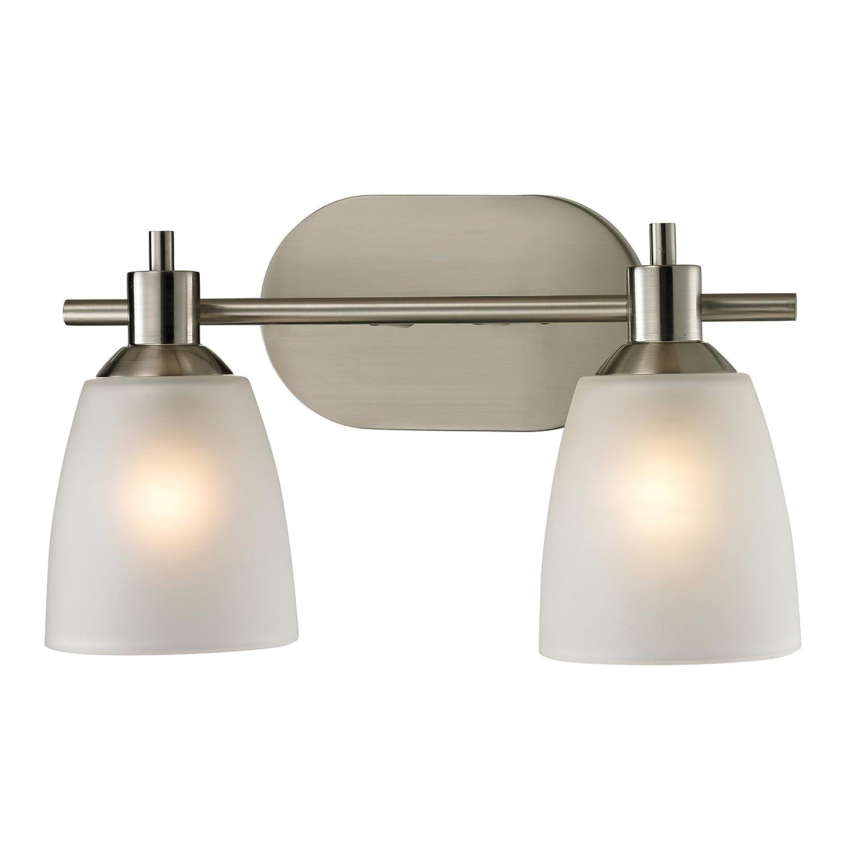Cornerstone Lighting 1302BB 20 Jackson 2 Light Bath Bar, Brushed Nickel