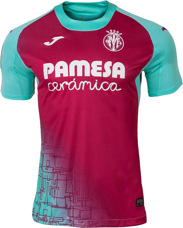 Villarreal Mens Home Soccer Jersey 2020-2021