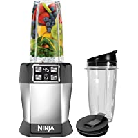 Ninja BL480D Nutri Ninja 1000W Auto-IQ Personal Blender with 18 oz and 24 oz Cups