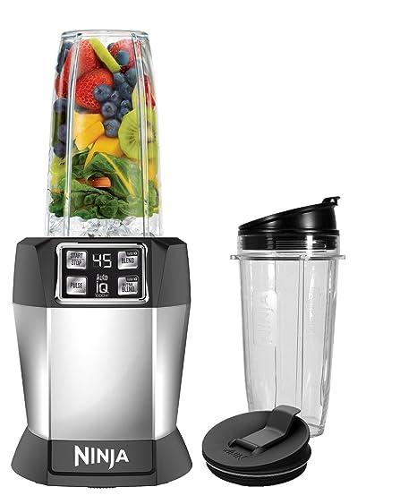 Amazon.com: Ninja BL480 Nutri Ninja con base auto-IQ de 1000 ...