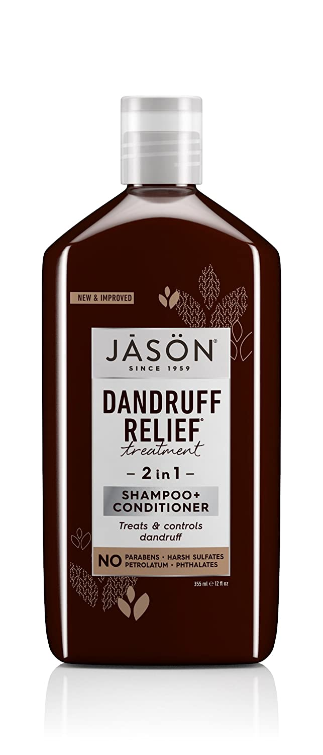 JASON Dandruff Relief 2-in-1 Treatment Shampoo and Conditioner