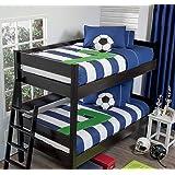 Seven 3-Piece Bunk Bed Comforter Set Bundled with Sheet Set Ind. / Twin