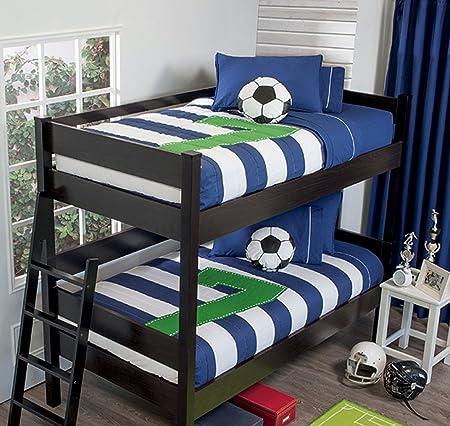 Seven 3 Piece Bunk Bed Comforter Set Bundled With Sheet Set Ind