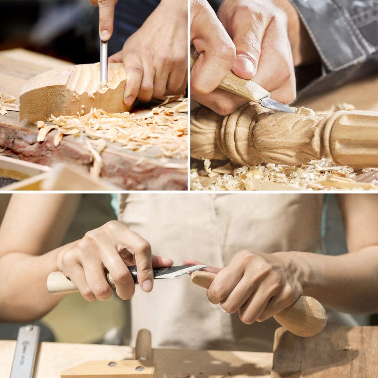 SUPVOX Blocs de Sculpture en Tilleul pour Jouets /Éducatifs Accessoires de Bricolage 10Pcs