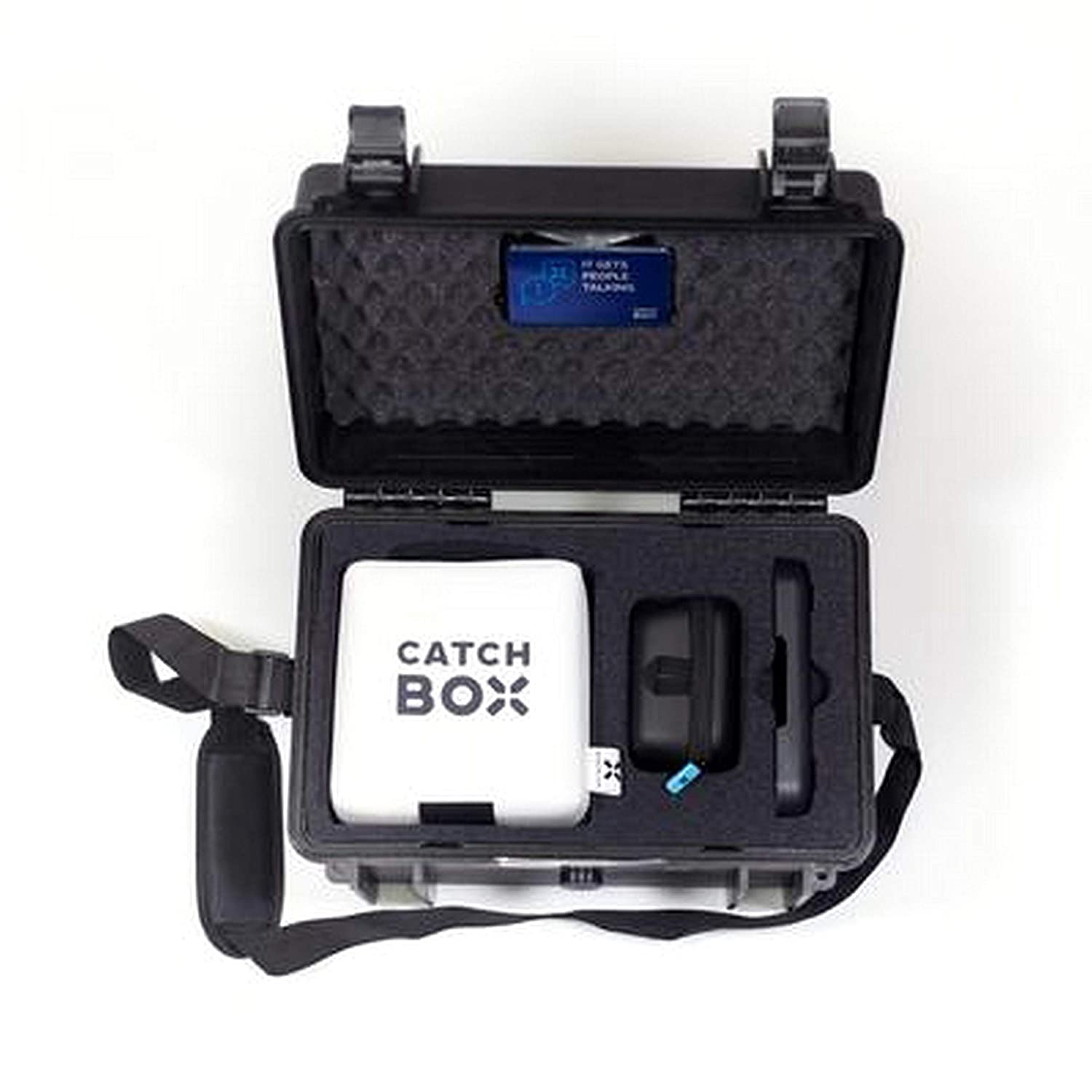 Catchbox Travel Case with Custom Inserts for Catchbox Plus