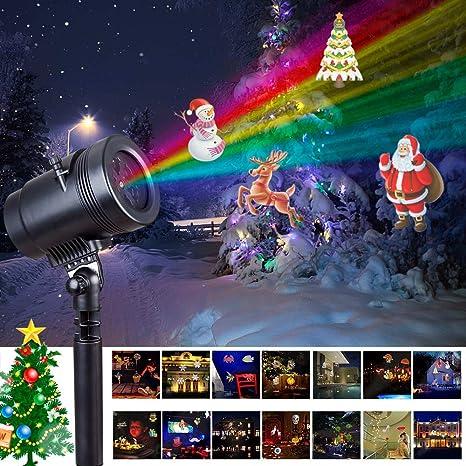 Blinngo Luces de Proyector Navidad con 14 Patrones Dinámicos ...