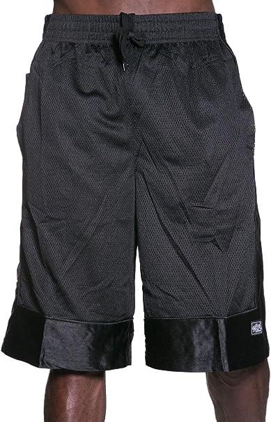 Vision Mens Heavyweight Mesh Basketball Dazzle Shorts