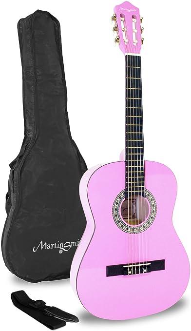 Martin Smith W-34-PNK-PK - Guitarra clásica de 34 pulgadas: Amazon ...