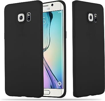 Cadorabo Funda para Samsung Galaxy S6 Edge Plus en Candy Negro: Amazon.es: Electrónica