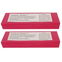 Makeup Mania Plain Waxing Strips - 140 Pieces (Magenta)