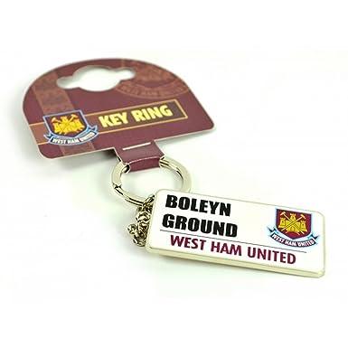 West Ham FC Official - Llavero con letrero de calle (Talla ...
