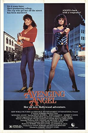 Avenging Angel 1984 Authentic 27 X 41 Original Movie Poster Rory