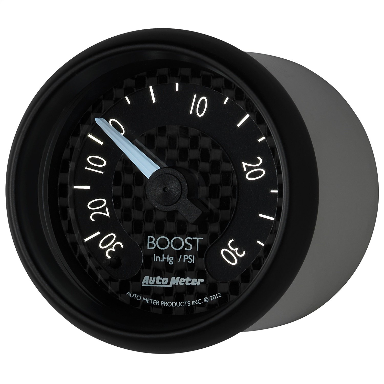Auto Meter 8003 GT Series Mechanical Boost/Vacuum Gauge by AUTO METER