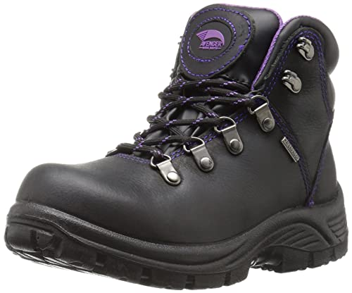 48aaf0fa584e8 Avenger Calzado de Seguridad de la Mujer 7124 Impermeable Toe Eh Sr Hiker  Industrial y la