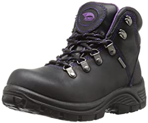 11. Avenger Women's 7124 Leather Waterproof EH Slip Resistant Work Boot