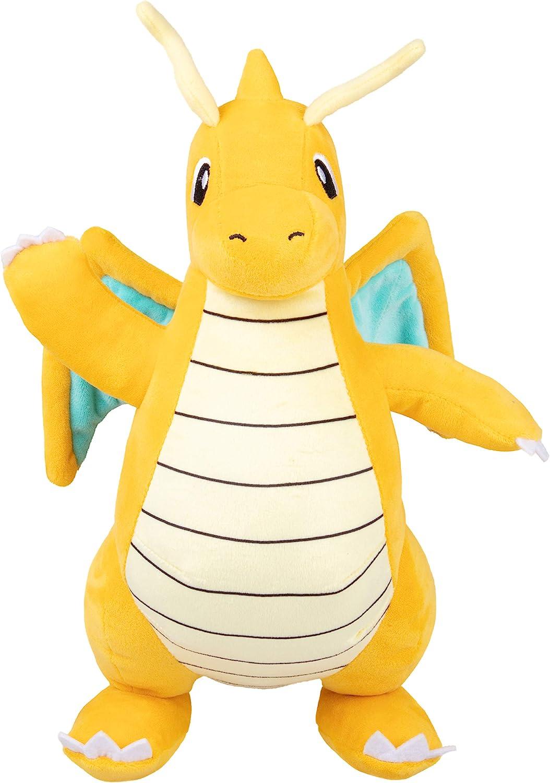 Dratini inspired plush dragon inspired by Pok\u00e9mon shoulder pet