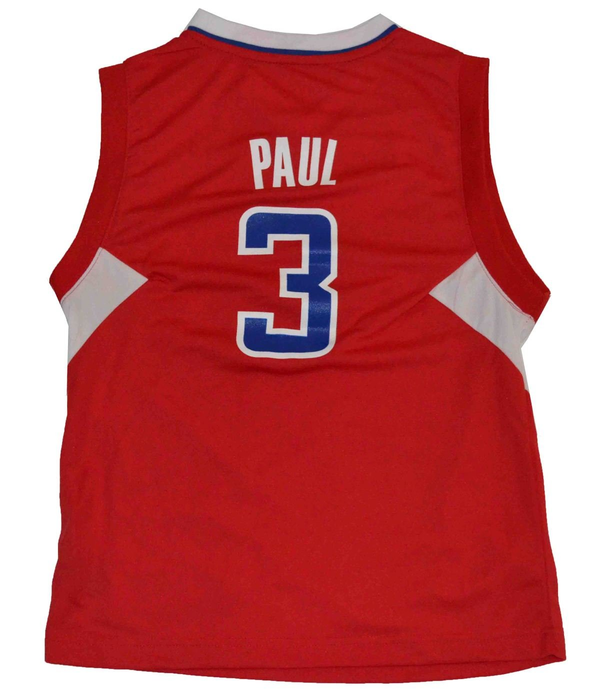 Amazon.com   NBA Los Angeles Clippers Chris Paul  3 Youth Replica Road  Jersey Red (Small)   Sports   Outdoors 43415bc22