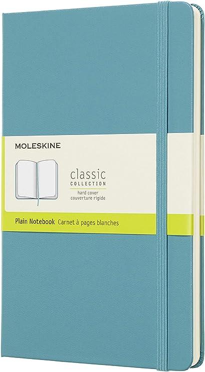 Soft Cover Riff Blau Liniert Moleskine Notizbuch Large//A5