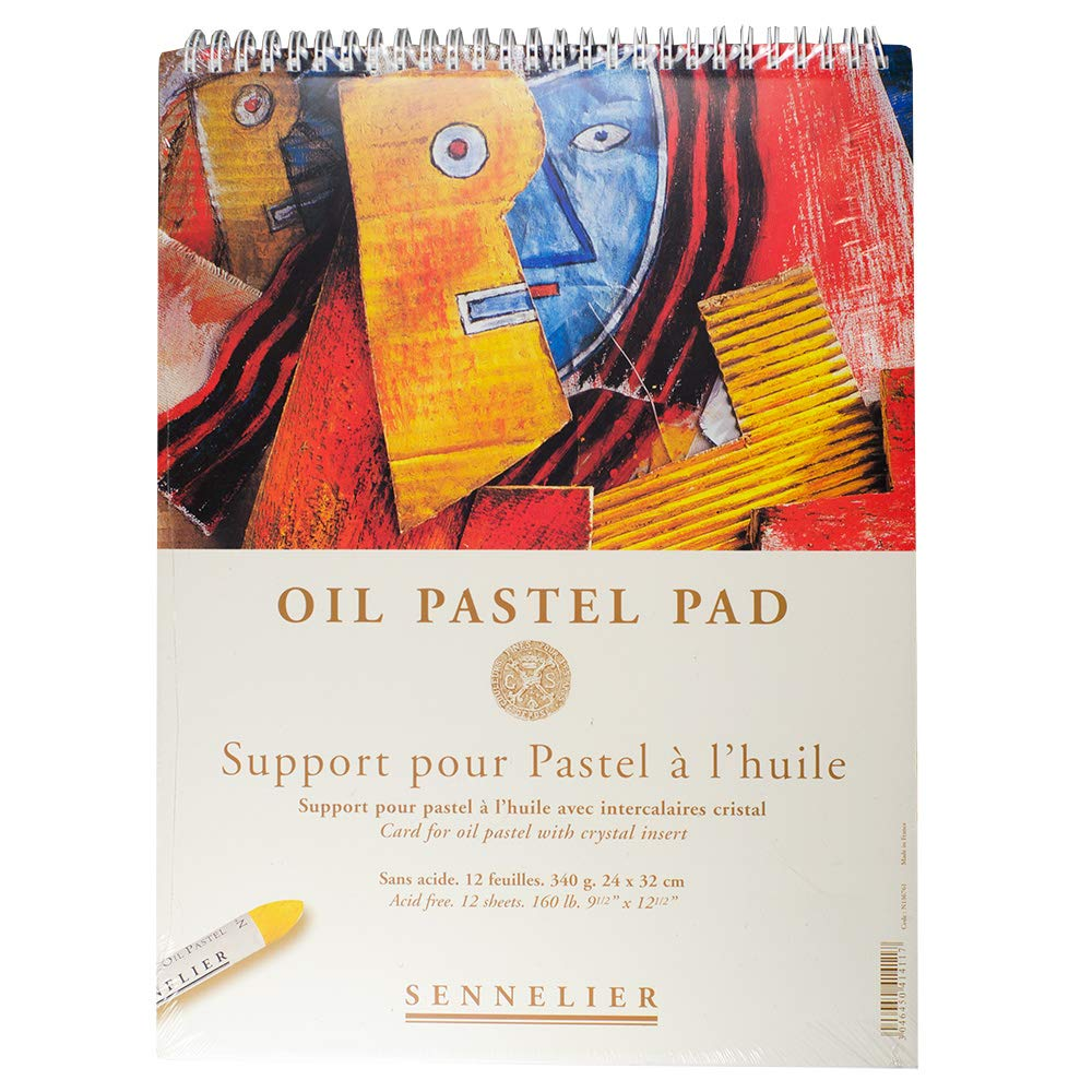 Sennelier Oil Pastel Pads - 24x16cm (9.5x6in)