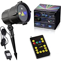 Tepoinn Christmas Laser Lights IP65 Star Projector