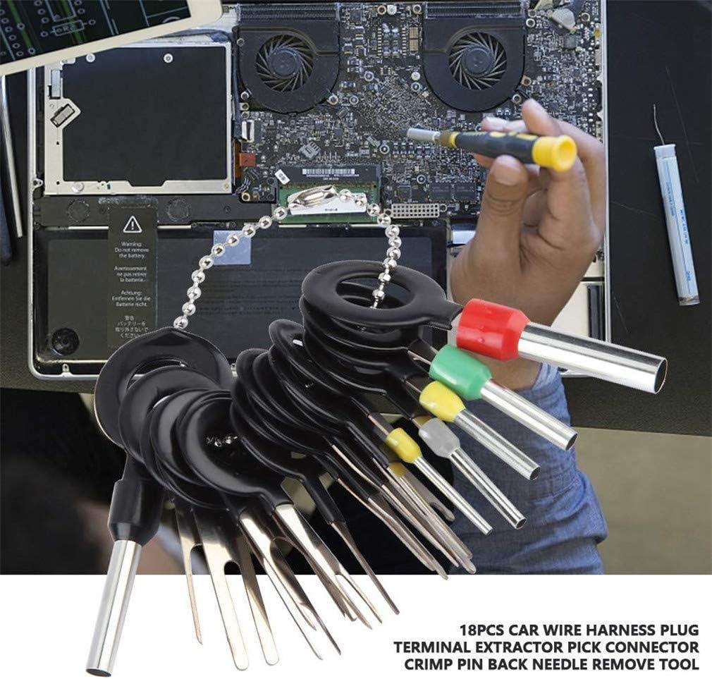 Extracteur de kit de fil d/éjecteur de broche connecteur de retrait de borne automatique outil de suppression de terminal de prise automobile